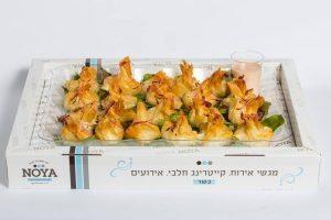 פרחי פילו במילוי גבינה